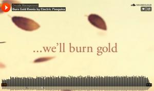 burn gold