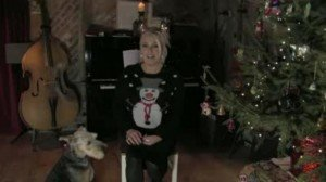Kim Wilde Christmas message 2014 - snapshot